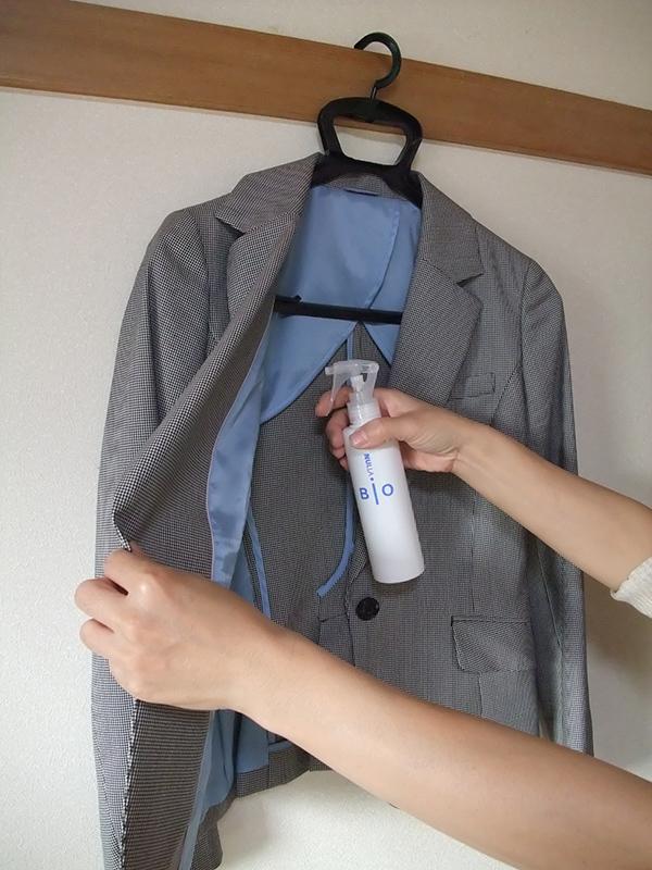 ヌーラビオ ポリエステル服への対策